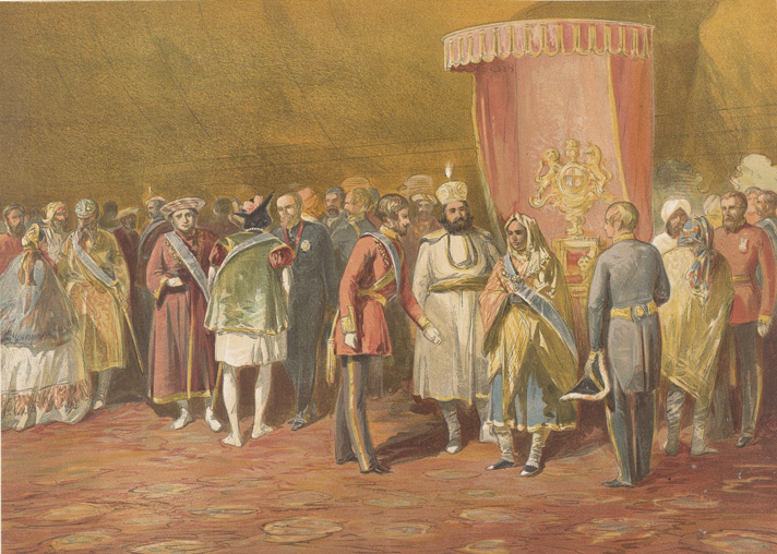 The first investiture of The Star Of India